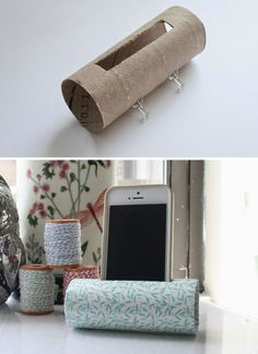 Use A Toilet Paper Roll To Make A Quick, Easy And Almost Free Iphone Speaker | Bored Panda