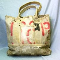 J.AUGUR DESIGN TOTE ALL NAT`L CANVAS
