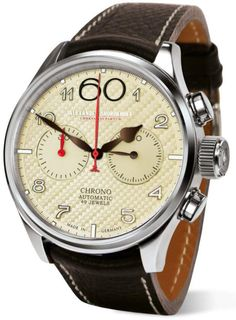 Alexander Shorokhoff Watch New Planet #add-content #bezel-fixed #bracelet-strap-leather #brand-alexander-shorokhoff #case-depth-14-4mm #case-material-steel #case-width-43-5mm #chronograph-yes #delivery-timescale-call-us #dial-colour-cream #discount-code-allow #gender-mens #luxury #movement-automatic #official-stockist-for-alexander-shorokhoff-watches #packaging-alexander-shorokhoff-watch-packaging #style-dress #subcat-avantgarde #supplier-model-no-as-n-pt05-2