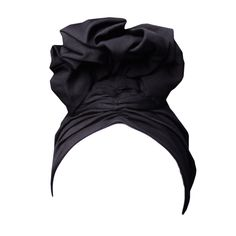Norma Kamali 1970s Exaggerated Turban | From a collection of rare vintage hats at https://www.1stdibs.com/fashion/accessories/hats/
