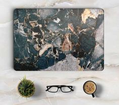 Blue Marble Grain Full Body Cover Skin for Macbook New Macbook, Macbook Pro Case, New Gadgets, Cool Gadgets, Macbook Accessories, Hp Laptop Skin, Macbook Stickers, Cute Cases, Laptop Decal