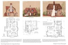 3 Cottage Style Homes by ~Built4ever on deviantART