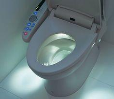 High Tech Japanese toilet