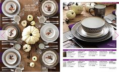 Are you looking for a new set of dishes for your fall entertaining?  Check out the Mikasa Luciana Collection and the Mikasa Sofia Collection at my eStore: https://jtomlinson.avonrepresentative.com/