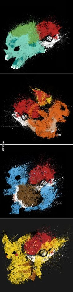 Awesome pokemon art by Melissa Smith