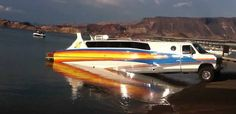 combination boat/RV