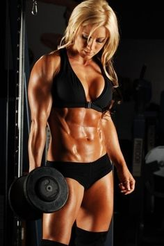 muscles... #abs #belly #flat #carved #6 #pack #blond #workout #lifting #weights #gym #woman #exercise jzwilley fit-women emogenepmp 8705262 six-pack-abs workout fitness excercise