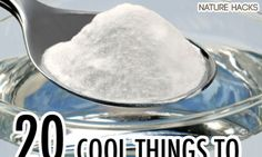 """Baking soda makes an excellent remedy for itchy skin. It can also be used to treat heartburn and acid indigestion. See 10 Home Remedies for Itching and 14 Home Remedies for Heartburn to learn more. Discovery Health """"Home Remedies Image Gallery"""" Baking Soda Health, Baking Soda Uses, Home Remedies For Heartburn, Natural Home Remedies, Acid Indigestion, Drinking Baking Soda, Diy Peeling, Healthy Holistic Living, Cleaning Recipes"""