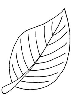 Free Leaf Coloring Page Pages 8 Printable