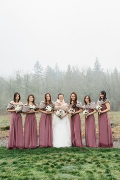Photography: Anna Jaye Photography - www.annajayephotography.com Read More: http://www.stylemepretty.com/2015/04/14/elegant-pacific-northwest-winter-wedding/