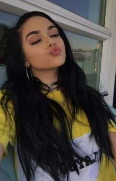 Uploaded by ♡. Find images and videos about maggie lindemann, girl and hair on We Heart It - the app to get lost in what you love. Maggie Lindemann, Foto Casual, Selfie Poses, Virgin Hair Bundles, Grunge Hair, Tumblr Girls, Remy Human Hair, Aesthetic Girl, Pretty People