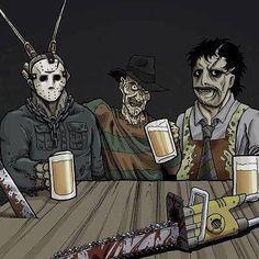 Great list! What would be your #ScarletLane #horrormovie pairing?? #horror #craftbeer #fridaythe13th #freddykrueger #leatherface #beer #horroricons http://ift.tt/2eB7VEH