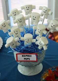 Adipose marshmallow pops