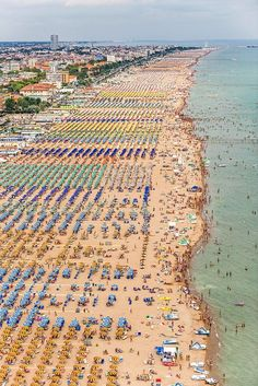 Adriatic coastline in Italy by Bernhard Lang