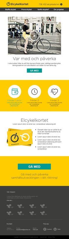Webdesign Schweiz | Jetzt kostenlose Offerte anfordern http://www.swisswebwork.ch Elcykelkortet by  Erika Henell