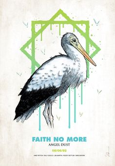 Faith No More. Angel Dust promo. Mike Patton
