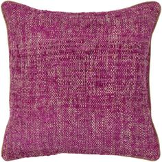These pillows compliment the rug and further complete the room. Features Textured collection Made in India Down fill insert included Available in 2 sizes: Chandra Textured Contemporary Silk Fabric Pillow - Magenta/Natural Throw Pillow Sets, Throw Pillows, Contemporary Bed Linen, Geometric Throws, Pillow Texture, Modern Pillows, Pillow Quotes, Custom Pillows, Silk Fabric