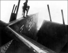escena del film El Gabinete del Doctor Caligari, 1920