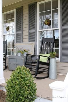 174 Best Front Porch Decorating Images In 2019