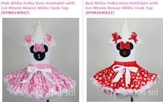 Minnie first birthday outfits