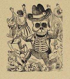 1138: JOSE GUADALUPE POSADA - Original engravings/metal : Lot 1138