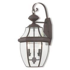 Livex Lighting Monterey 20284 Outdoor Wall Lantern - 20284-07
