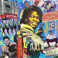 Vintage James Brown and Motown greats at Philadelphia Uptown Theater Poster from www.retrophilly.com