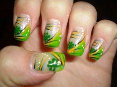 St. Patricks by jtredo - Nail Art Gallery nailartgallery.nailsmag.com by Nails Magazine www.nailsmag.com #nailart
