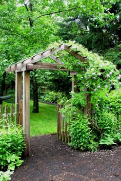 Creative Garden Arbor Ideas To Create To Complement Your Landscape | Garden  Arbors Design No.