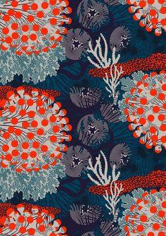 Textile ❤ Couleurs power par Marimekko ! été 2015