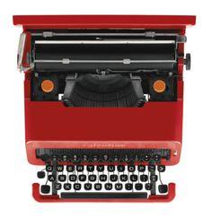 Ettore Sottsass / Olivetti / Valentine / Portable Typewriter /...