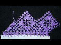 Crochet Edging Patterns, Owl Patterns, Crochet Borders, Crochet Squares, Crochet Trim, Love Crochet, Filet Crochet, Crochet Doilies, Crochet Lace