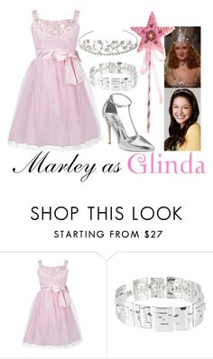 Marley as Glinda the Good Witch by samevans17 on Polyvore featuring Ruby Rox, NLY Accessories, John Lewis and Badgley Mischka