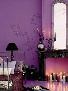 Give Your Bedroom a Romantic Makeover | Wandfarben