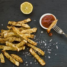 SCD Celeriac & Cumin Oven Fries (*Serve with SCD ketchup / dipping sauce...)
