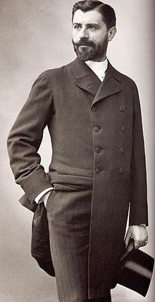 Samuel-Jean de Pozzi photographed by Félix Nadar.