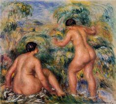 Bathers - Pierre-Auguste Renoir
