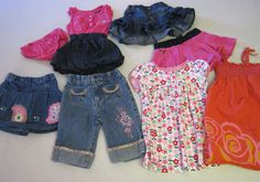 Baby Girl Clothes 18 M Months 8 Pc Lot US Polo Assn Hanna Andersson Arizona #Assorted