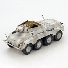 52.00$  Buy now - HM 1/72 HG4306 World War II German Cougar 8 antitank car SS Winter Painting Favorites Model  #buyonlinewebsite