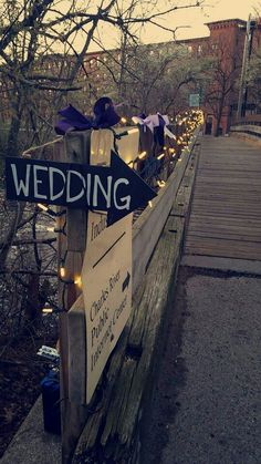 #charlesriver #wedding #lights