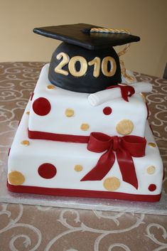 Irresistible Desserts: Graduation Cakes and Cupcakes