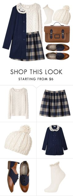 """""""Winter is Near"""" by sweetpastelady ❤ liked on Polyvore featuring Band of Outsiders, Passigatti, Oxford, Topshop and The Cambridge Satchel Company"""