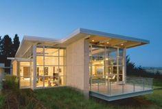I like the idea of large windows, if you don't have to many neighbors :)
