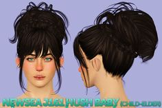 Just to clarify, all retextures under 'hair retextures', use my hair textures. Any other not included under that tag use Pooklet's textures. So these use my hair textures and control. • Cazy Aura and...