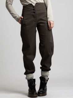 COTTON WITH LYCRA TROUSER