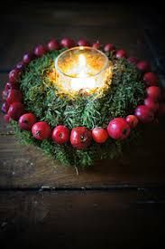 Image result for christmas decorations with crab apples