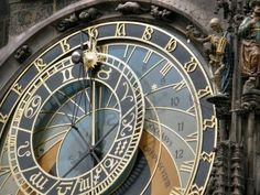 Astronomical clock in Prague - the most beautiful clock in the world Beautiful Streets, Most Beautiful, Prague Apartment, Tick Tock Clock, Clock Wallpaper, Best Butter, Winter Palace, Time Stood Still, As Time Goes By