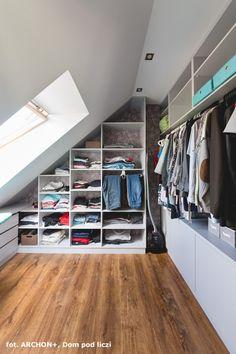 Attic Bedroom Small, Attic Bedrooms, Attic Loft, Closet Remodel, Attic Remodel, Loft Storage, Record Storage, Ikea Kids Room, Wardrobe Room