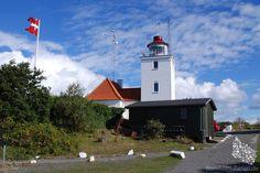 Lighthouse Hammerodde Fyr/ Lille Fyr - Bornholm, Denmark #hammeroddefyr…