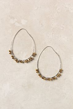 Love these earrings from Anthropologie - also in freshwater pearl.